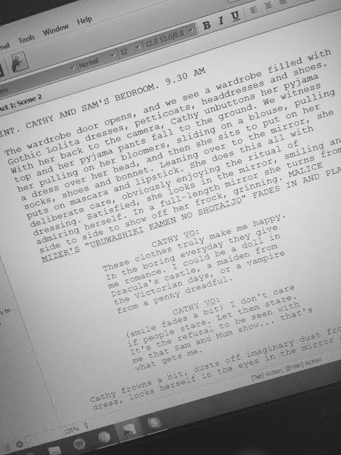 """Starting the Screenplay of """"What's Left Behind"""""""